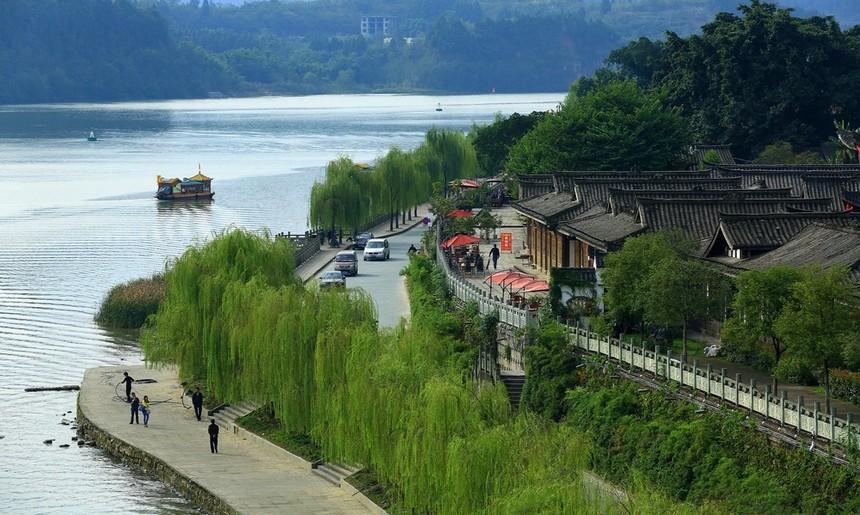 四川阆中古城,不得不去的古镇
