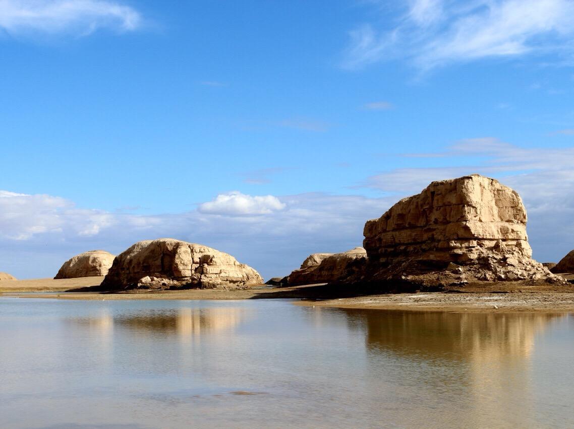 世界上唯一的水上雅丹地貌能看到什么?