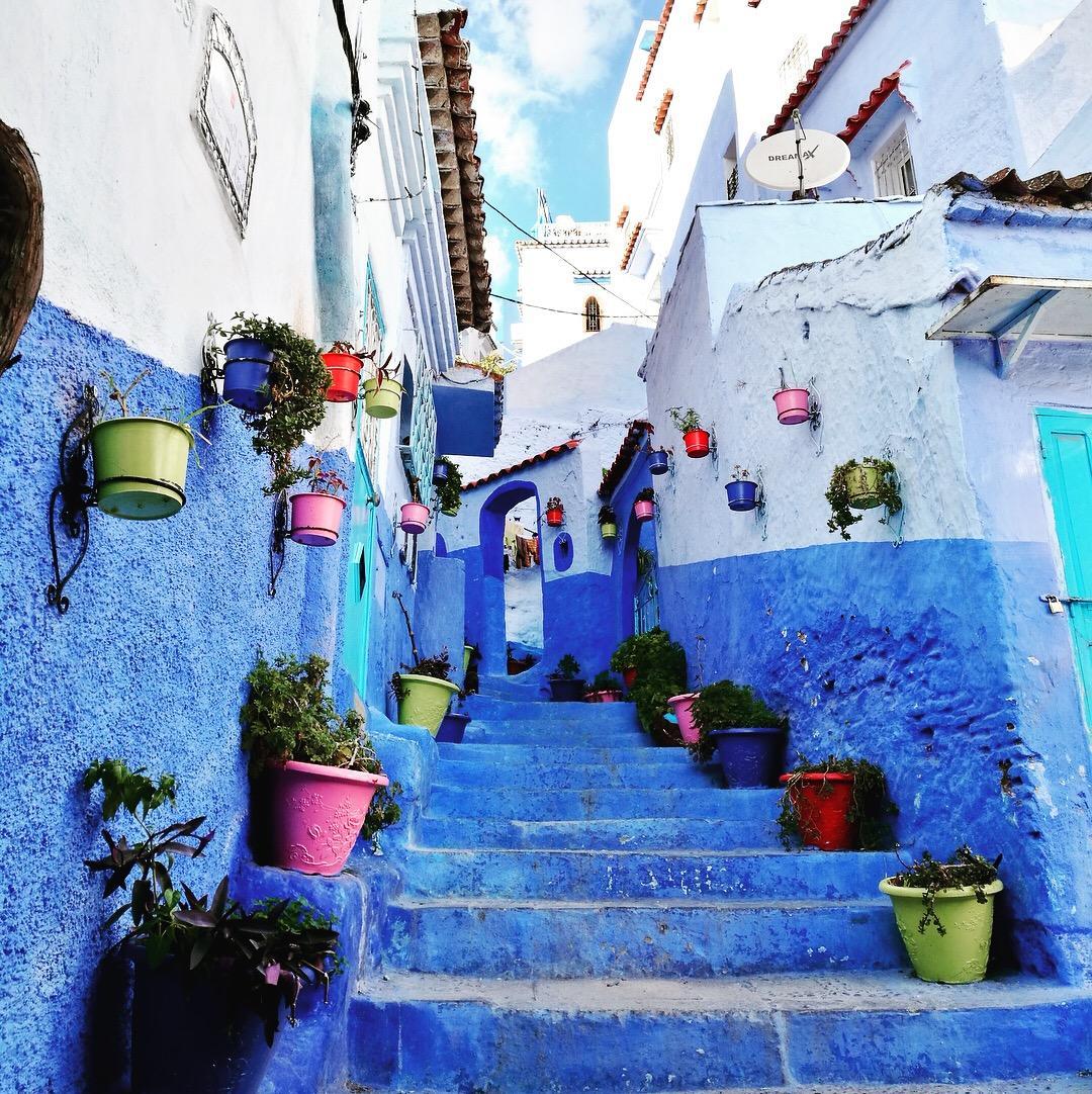 摩洛哥舍夫沙万为什么是蓝色的?舍夫沙万的一