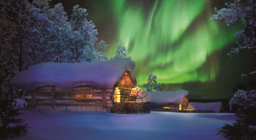 去芬兰看极光,推荐Kakslauttanen 卡克斯劳塔纳冰屋
